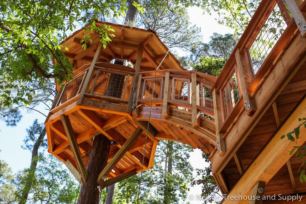 diy hog wire deck railing nelson treehouse rh nelsontreehouse com Treehouse Clip Art Minecraft Treehouse