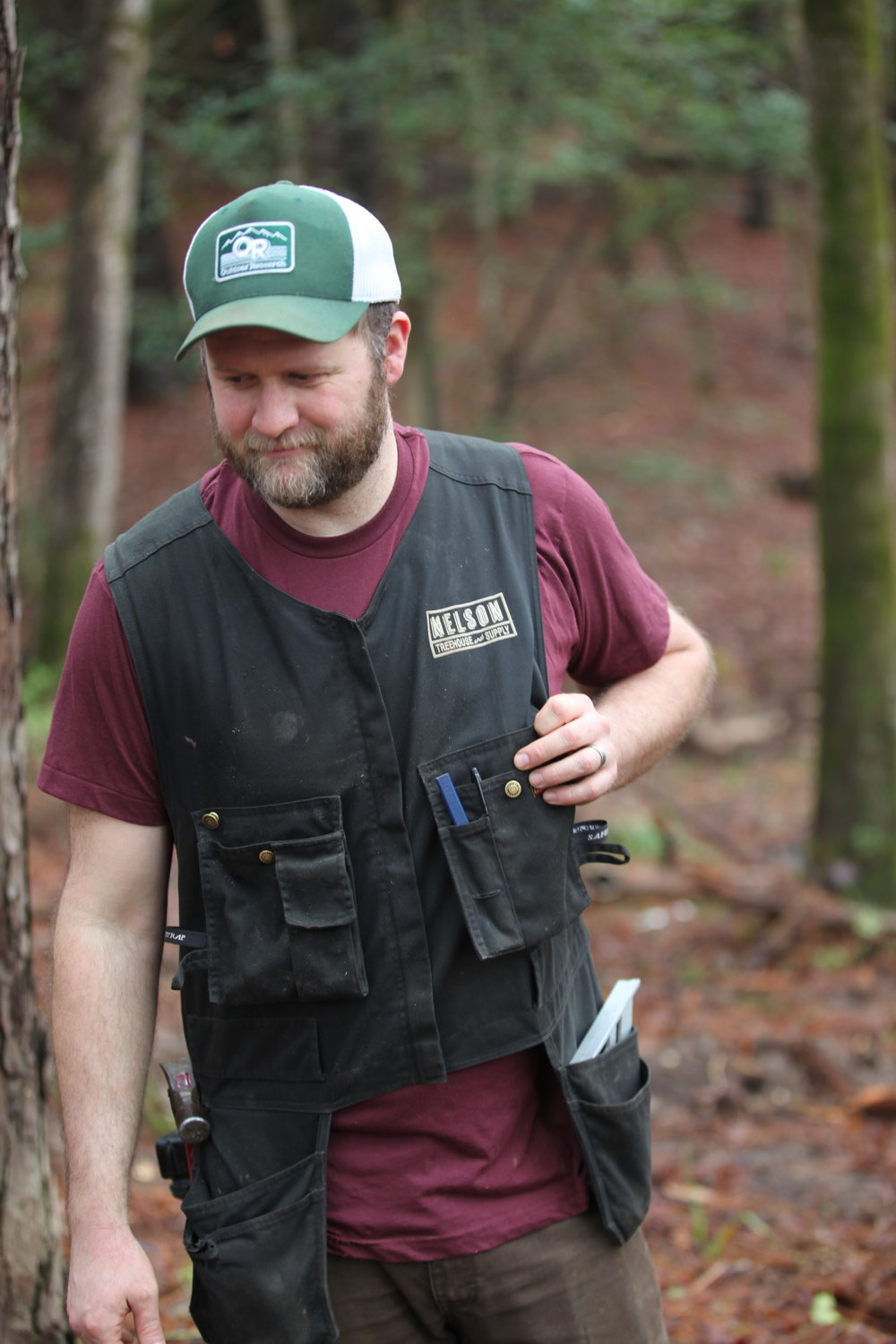 Daryl working the NT&S Blacklader Tool Vest