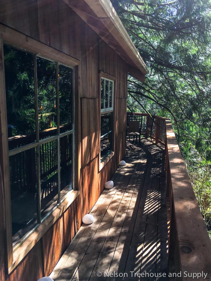 adventure headquarters treehouse exterior
