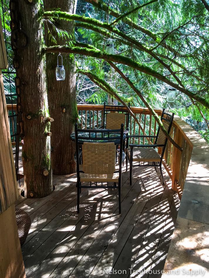 adventure headquarters treehouse deck