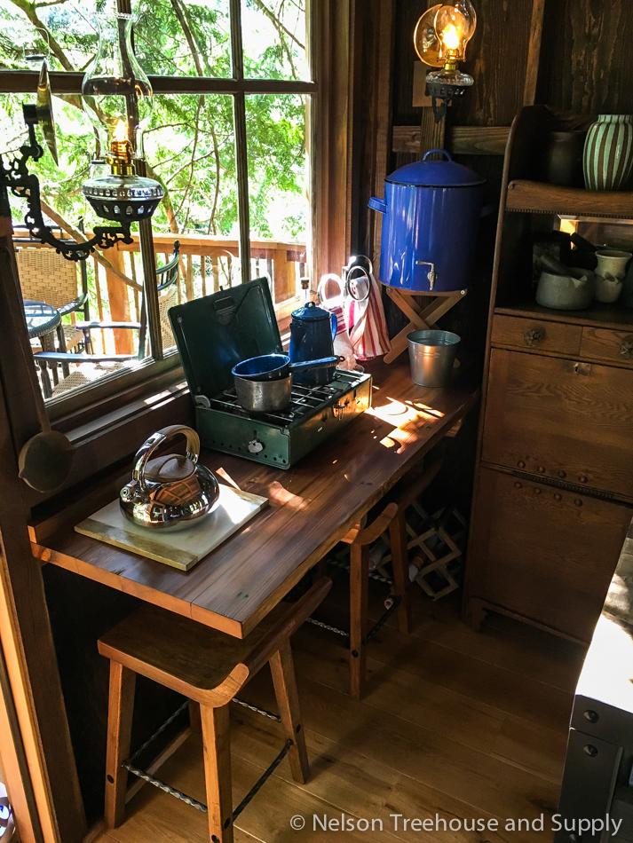 adventure headquarters treehouse kitchenette