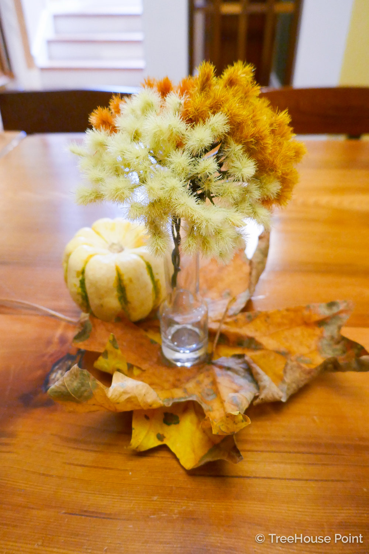 TreeHouse Point Fall Decor Tips