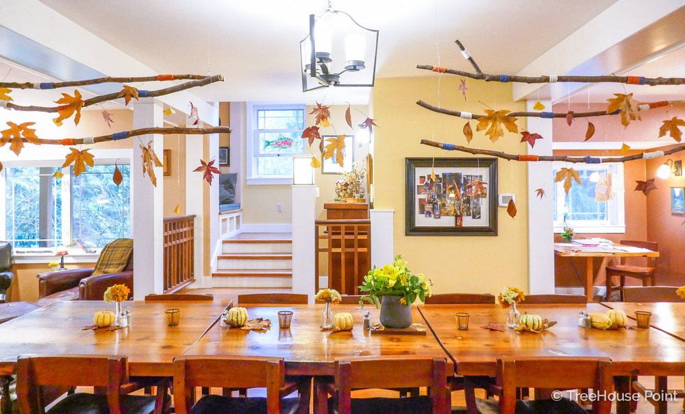TreeHouse Point Fall Decor Tips