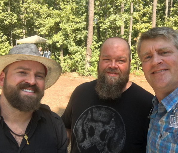 It was honor and pleasure to work with Zac Brown on the  Space crab Treehouse  at Camp Southern Ground.