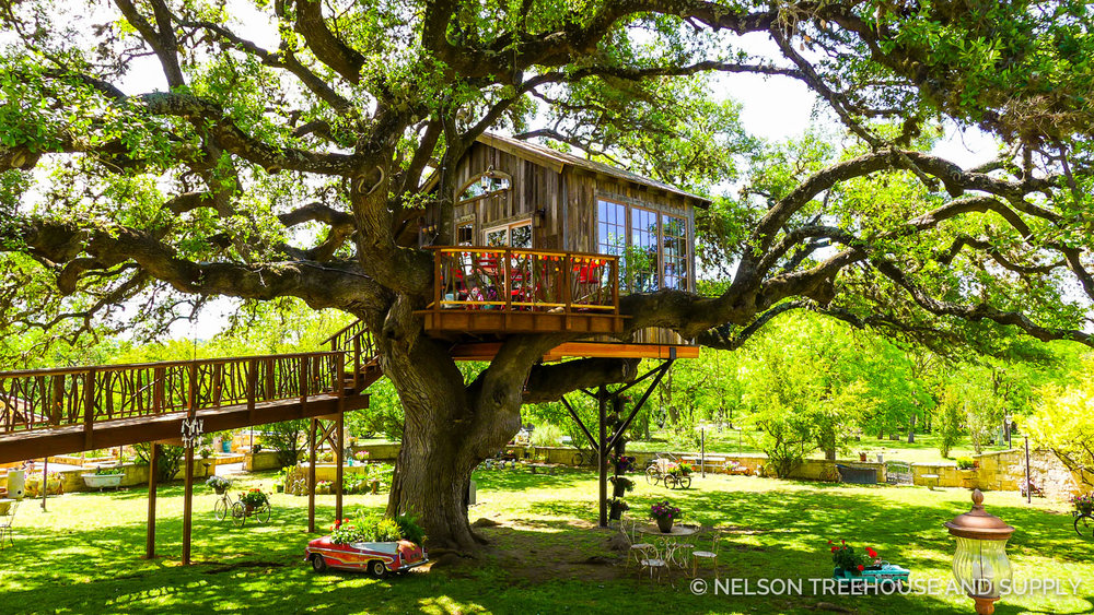 Working with Laurel Waters on the  laurel tree Restaurant treehouse  was an incredible experience. Utopia, Texas truly lives up to its name!