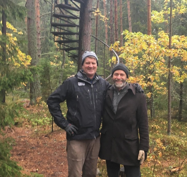 Traveling to norway to visit treehouse builders was a highlight of my year. Thank you for graciously showing me your work,  Håkan!