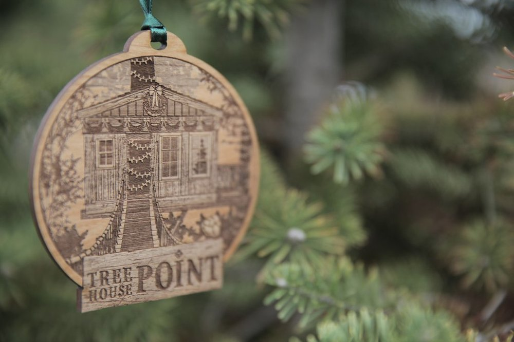 TreeHouse Point Ornament