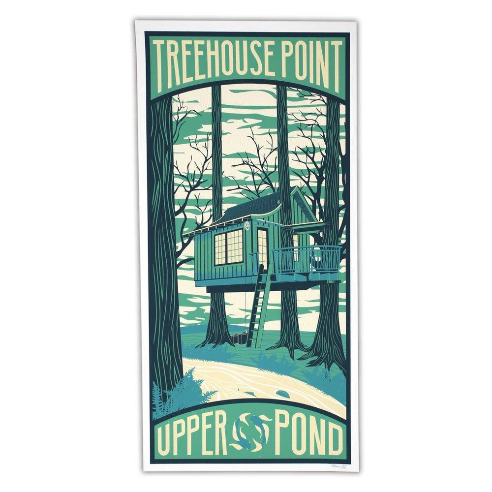Upper Pond Poster
