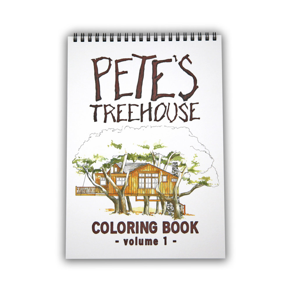 Pete Nelson Coloring Book