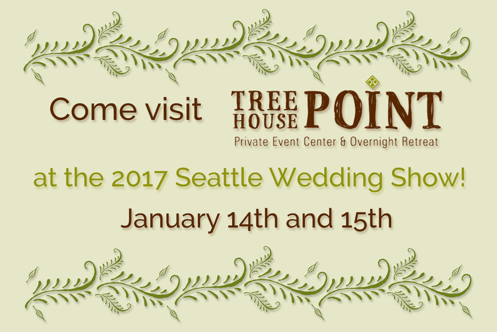 TreeHouse Point Seattle Wedding Show