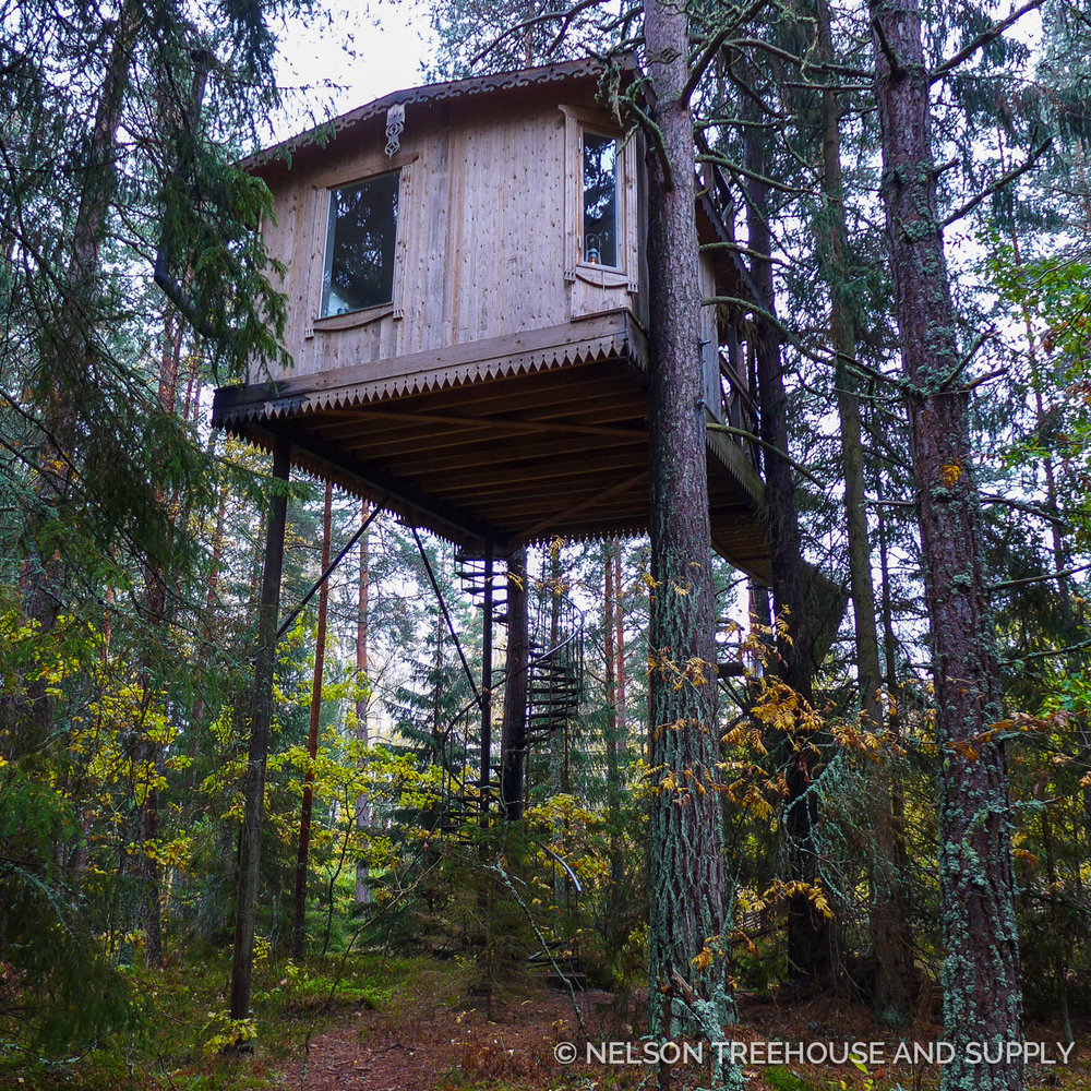 Pete S Favorite Moments From His Scandinavian Treehouse Tour