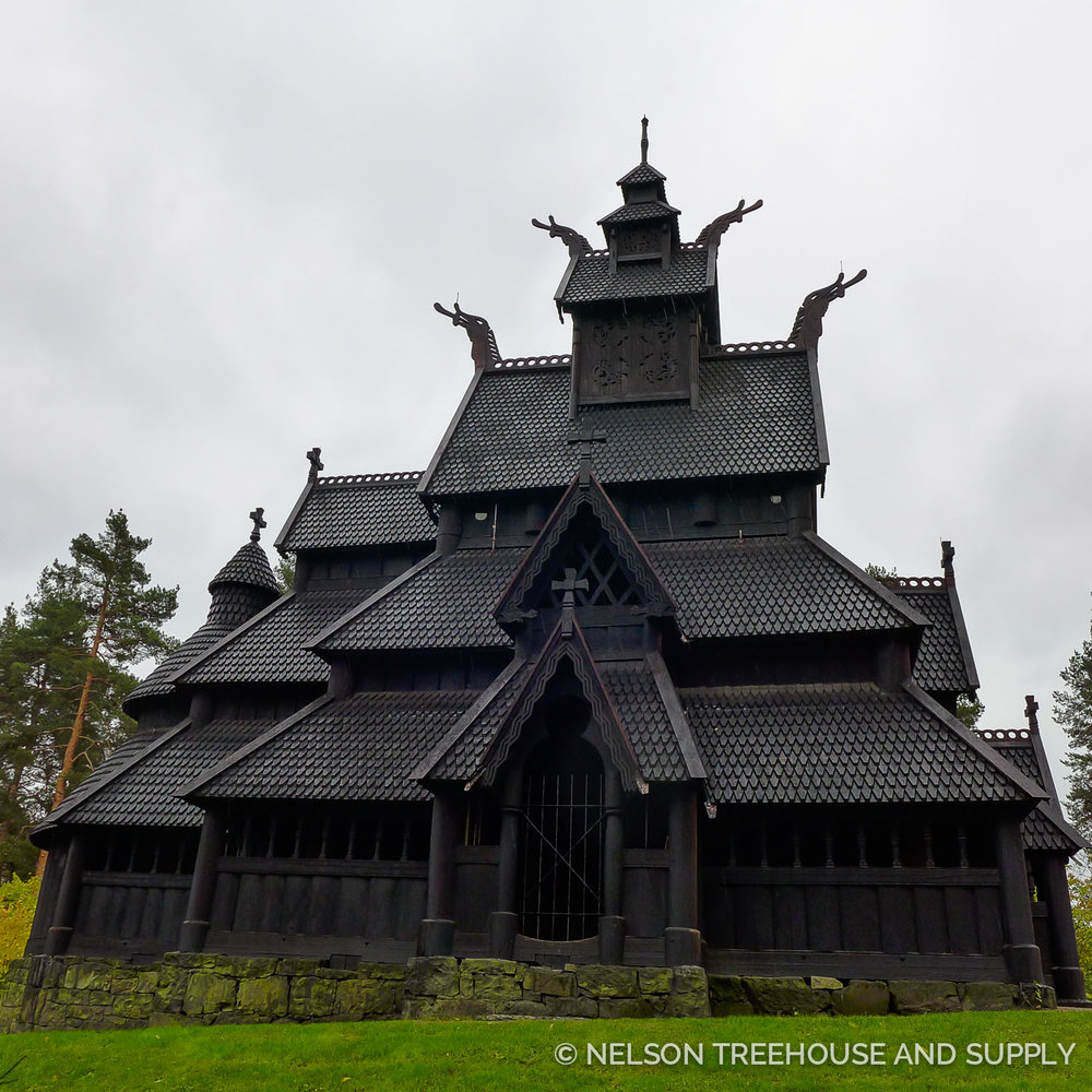 Gol Stave Church, norway