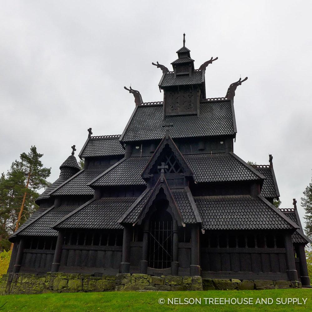 GOL STAVE CHURCH, NORWAY