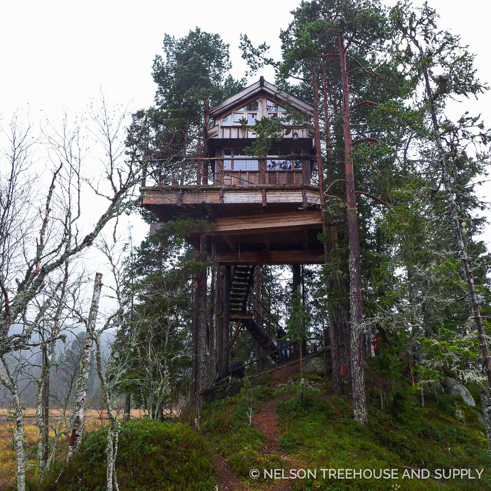 international episode treehouses of scandinavia nelson treehouse - Treehouse Masters Mirrors