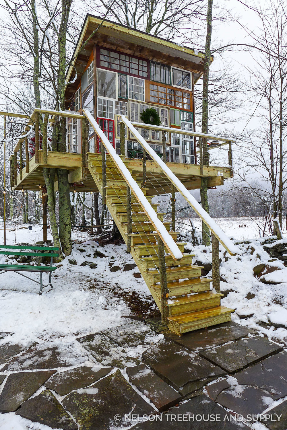 New York Glass Treehouse Nelson Treehouse