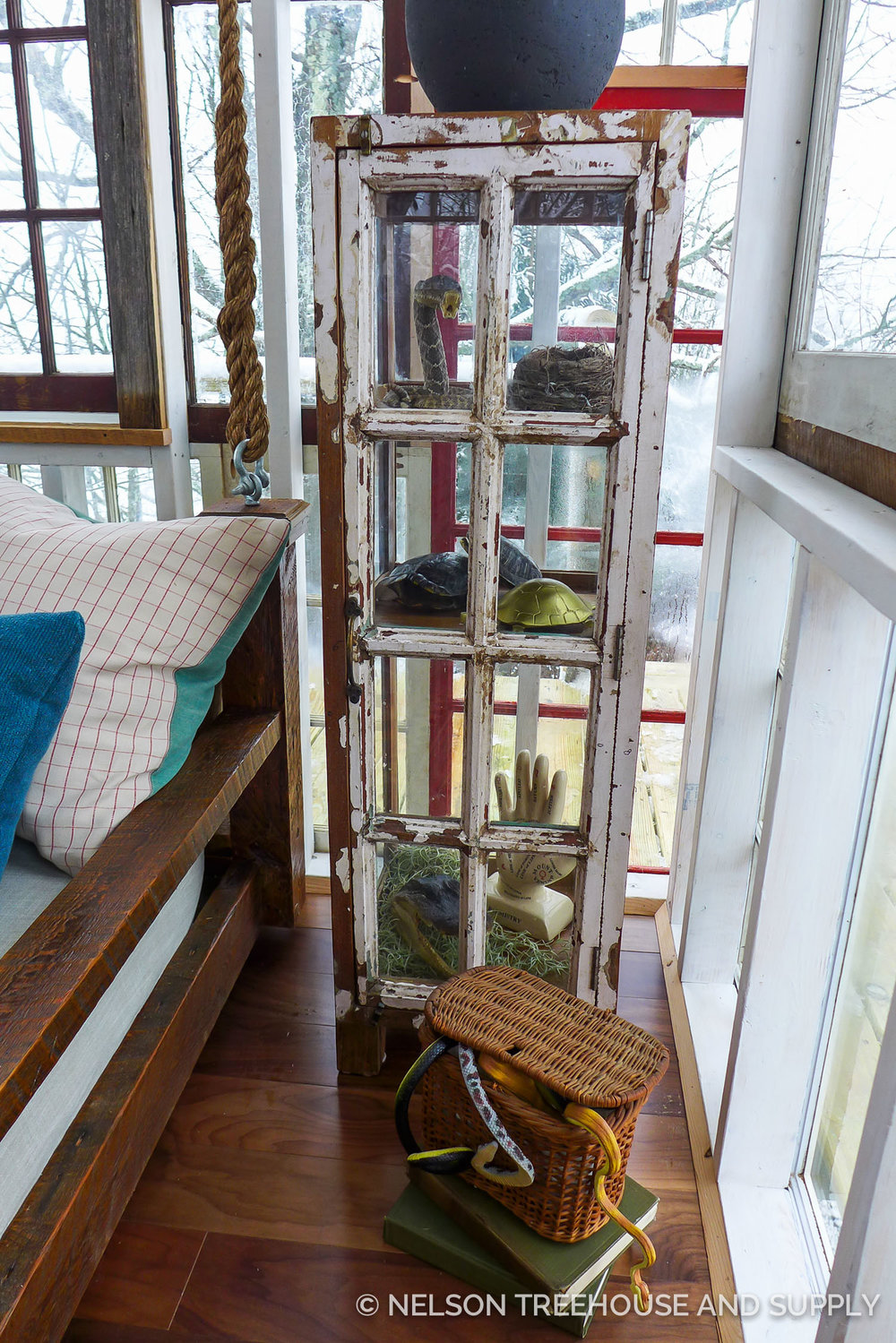 Nelson Treehouse Catskills Glasshouse Treehouse