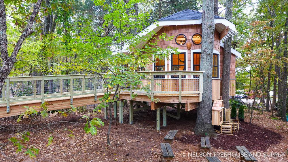 Owl's Nest Nelson Treehouse