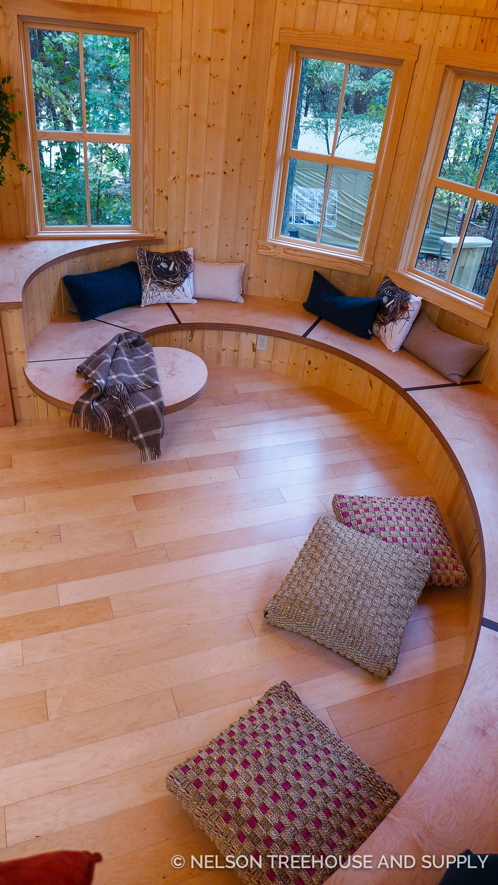 Fibonacci Bench Nelson Treehouse