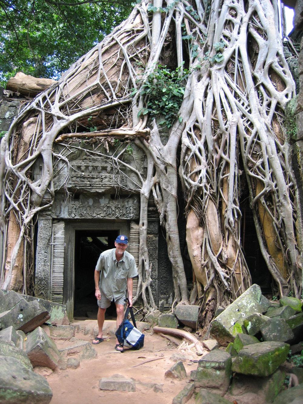 Chuck in Cambodia.