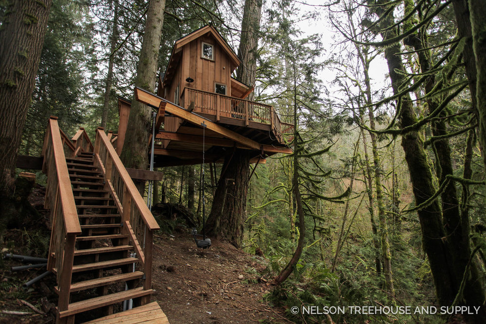 Ski House Treehouse Nelson Treehouse and Supply