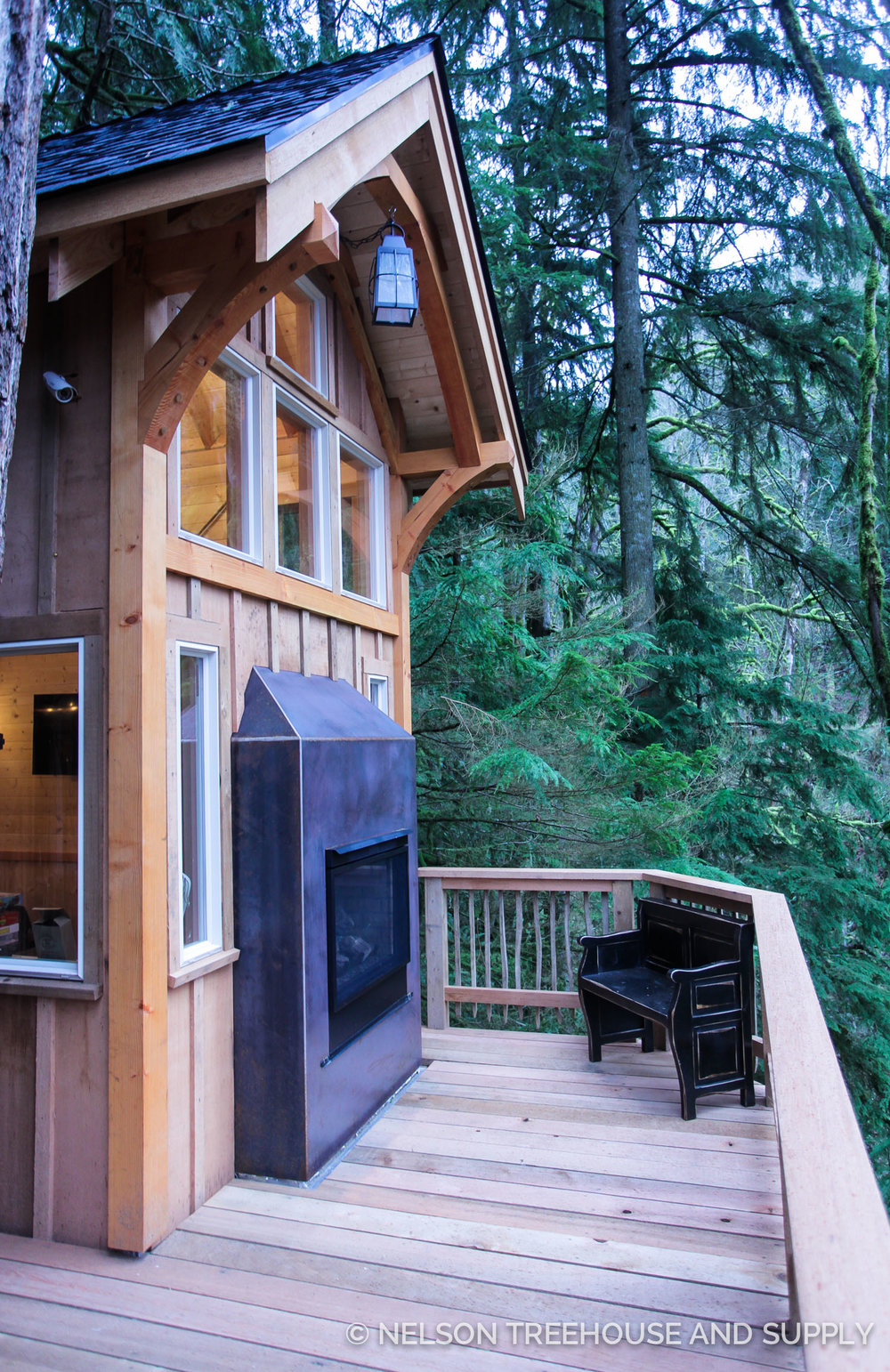 Nelson Treehouse Ski Lodge Treehouse