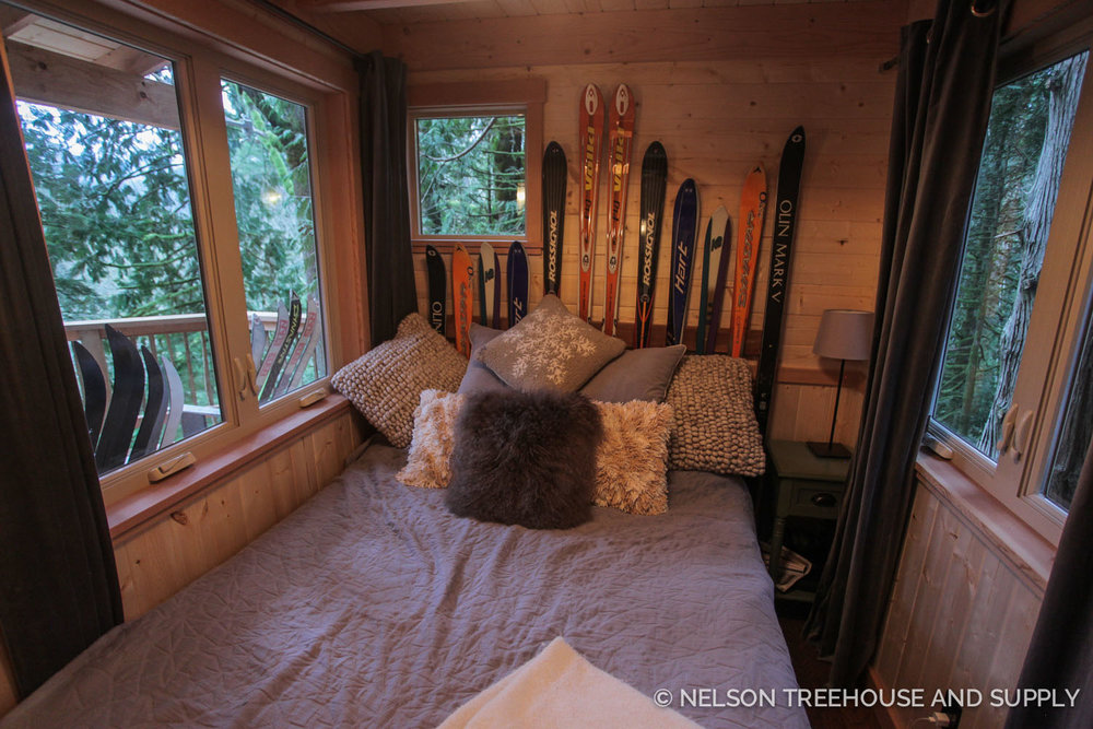 Beau Nelson Treehouse Ski Lodge