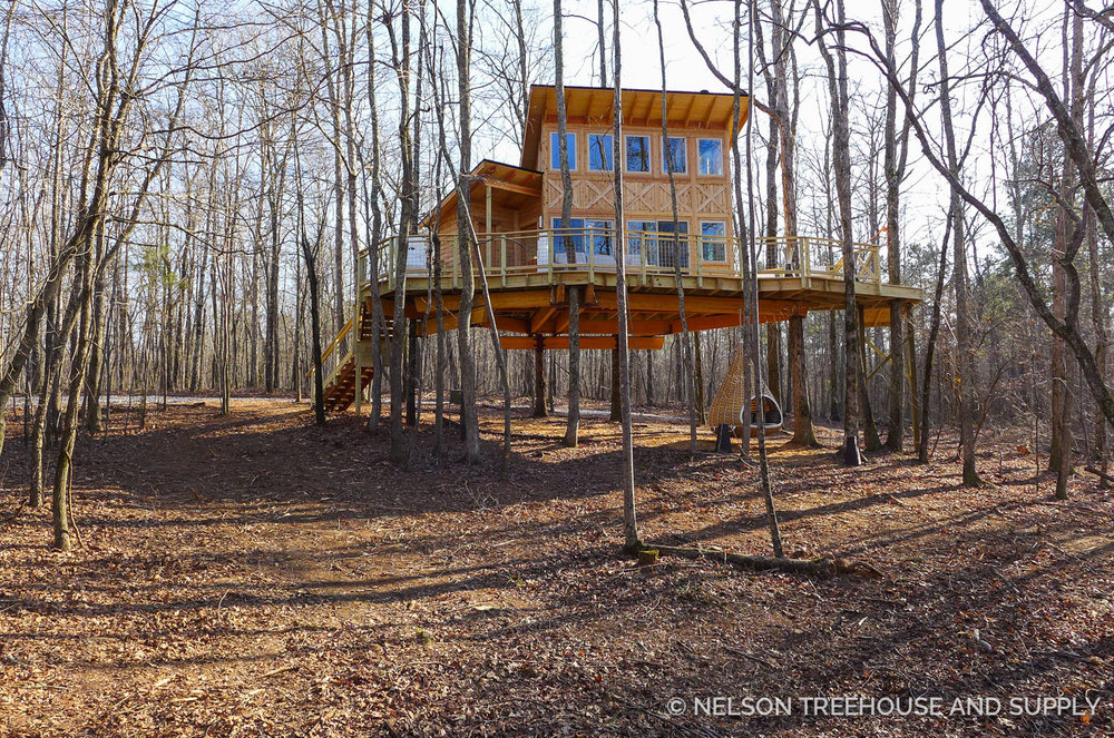 Treehousefriday Photo Tour Magical Modern Treehouse Nelson Treehouse