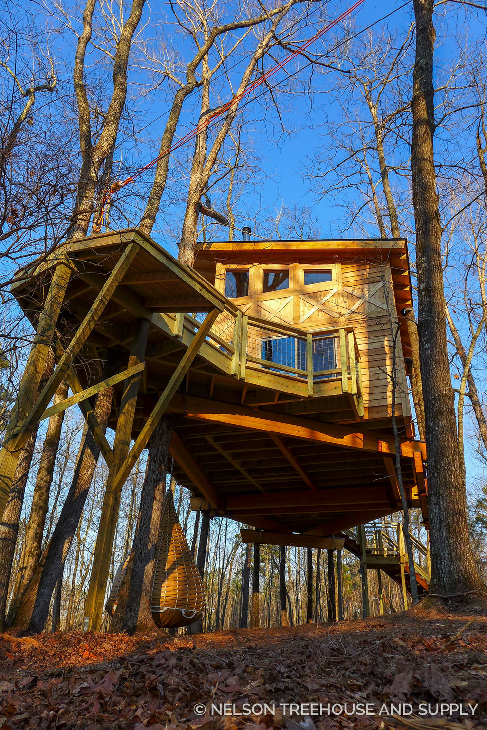 Nelson Treehouse Magical Modern