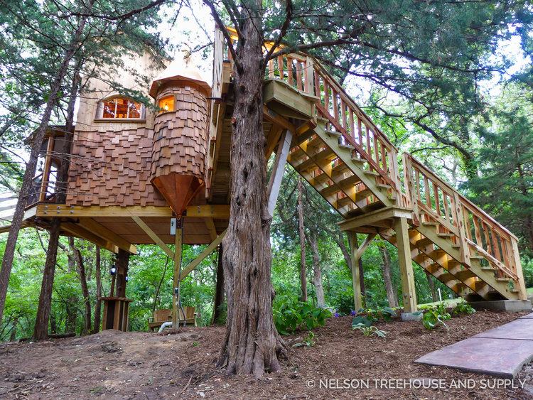 Treehousefriday Fairytale Cottage Treehouse Nelson