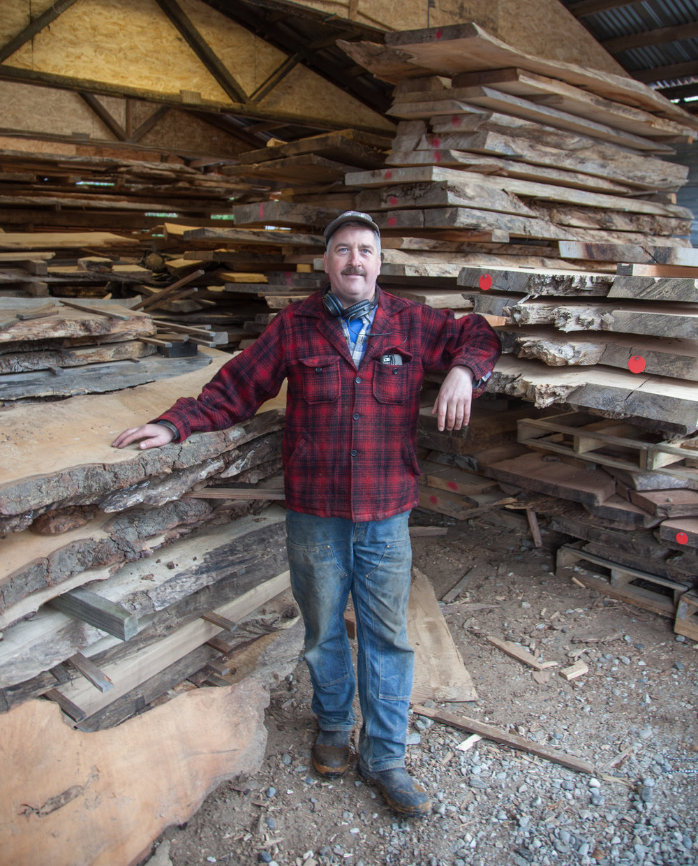 Bruce Blacker, Owner of Wild Edge Woods.