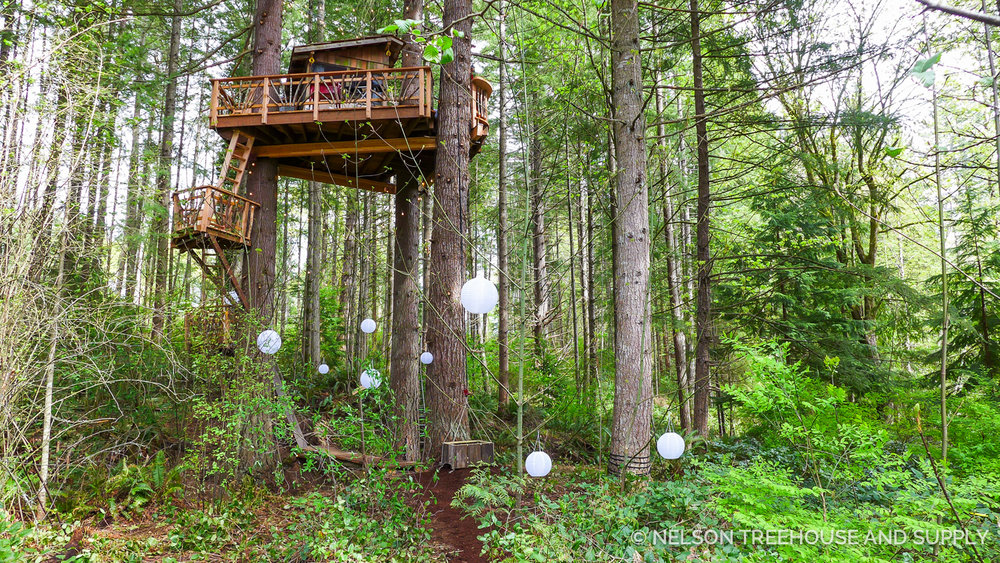 Nelson family treehouse