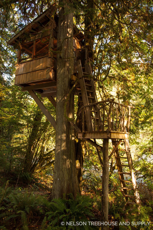 Bird Blind TreeHouse Point