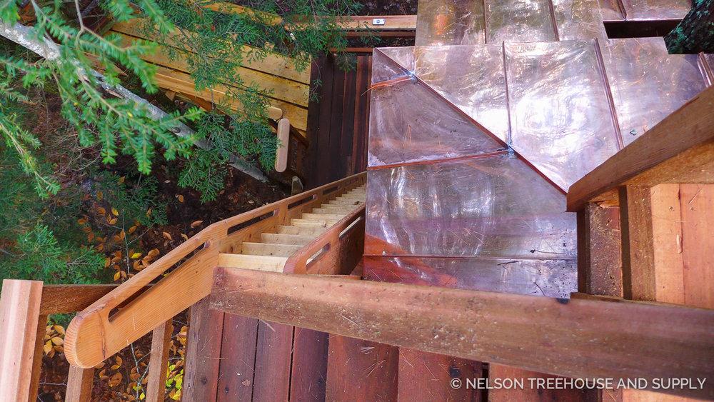 Nelson Treehouse Hemlock Hideaway Maine