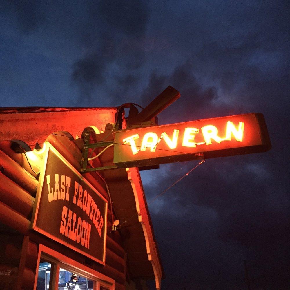 Last Frontier Saloon in Fall City