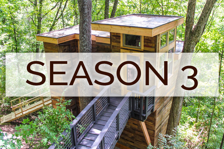 Treehouse Masters Season 3