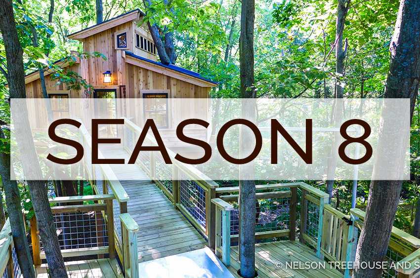 Treehouse Masters Season 8
