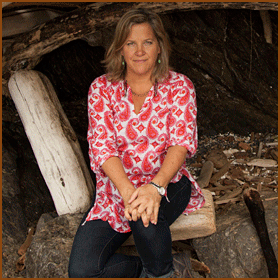 Judy Nelson  Co-Owner     The love of treehouses must be contagious because Judy gets as excited about the arboreal structures as the rest of her family does. When she's not busy running Treehouse Point (with the help of an incredible staff!) Judy loves to cook, play soccer, hike and drink tequila with her friends. She married Pete nearly 27 years ago and is an excellent mom to their three fantastic kids, three dogs, a large cat and a bunch of chickens.    Follow Judy at     @treehousejudy