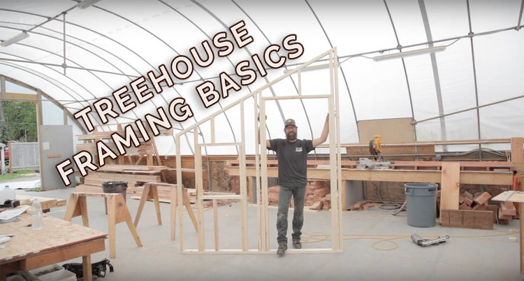 Treehouse Framing DIY Tutorial - Your First Rake Wall! — Nelson ...
