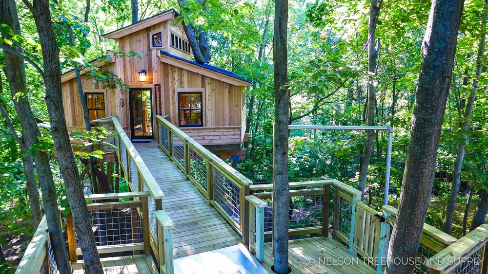 the parks commission had a small but mighty set of requirements for the treehouse when nelson treehouse and supply began making their plans