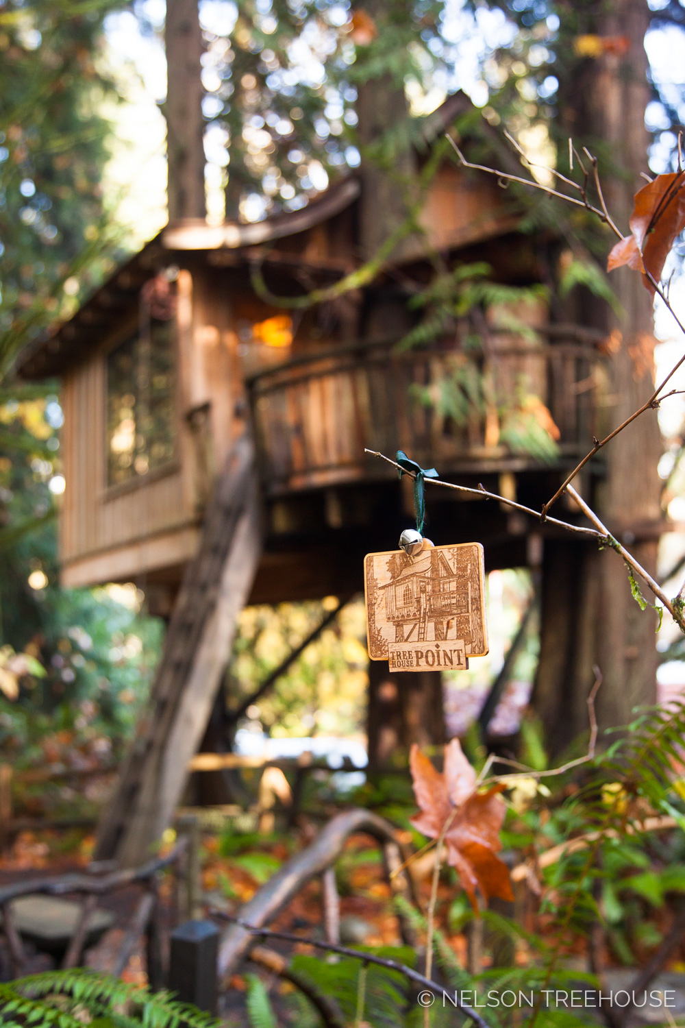 Upper Pond Treehouse Point Ornament