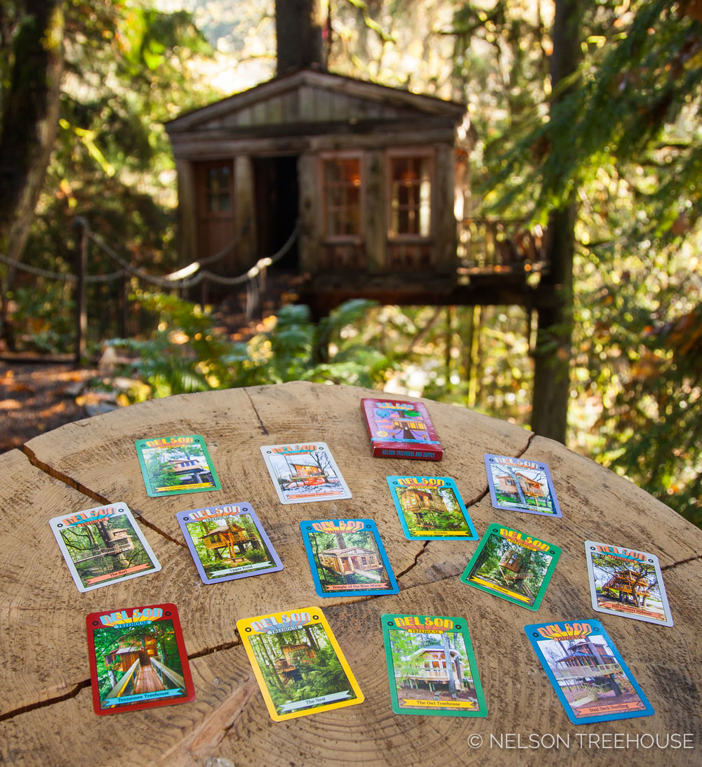 Nelson Treehouse Trading cards