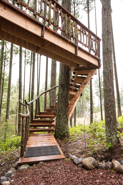 Safari Treehouse Stairway