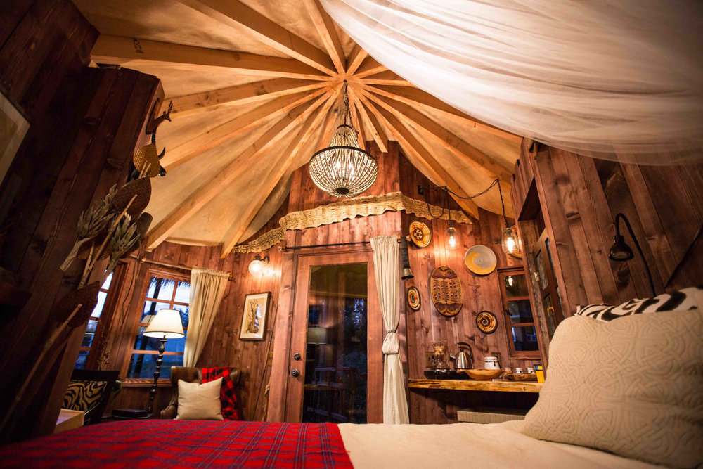 Safari Treehouse Interior