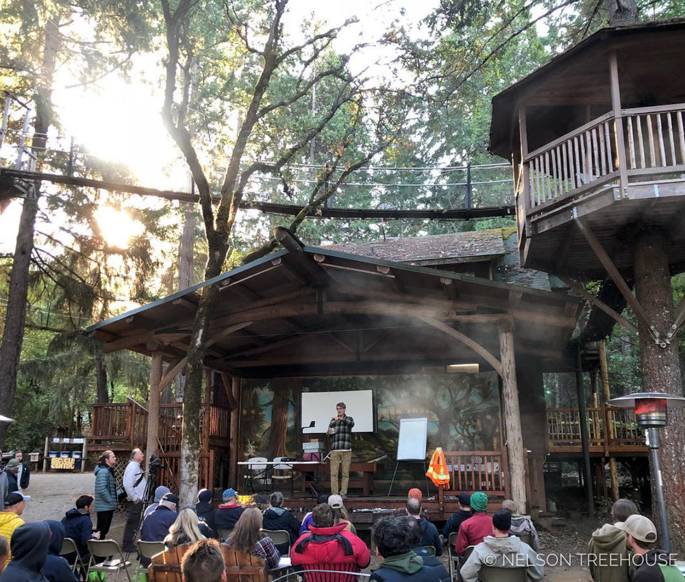 At the World Treehouse Conference this fall, the treehouse community gathered to talk about everything from tree physiology to structural engineering and design.