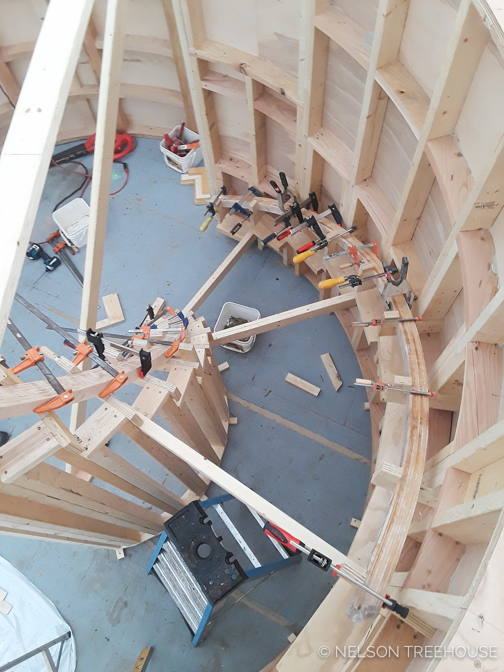 Spiral Staircase Prefabrication