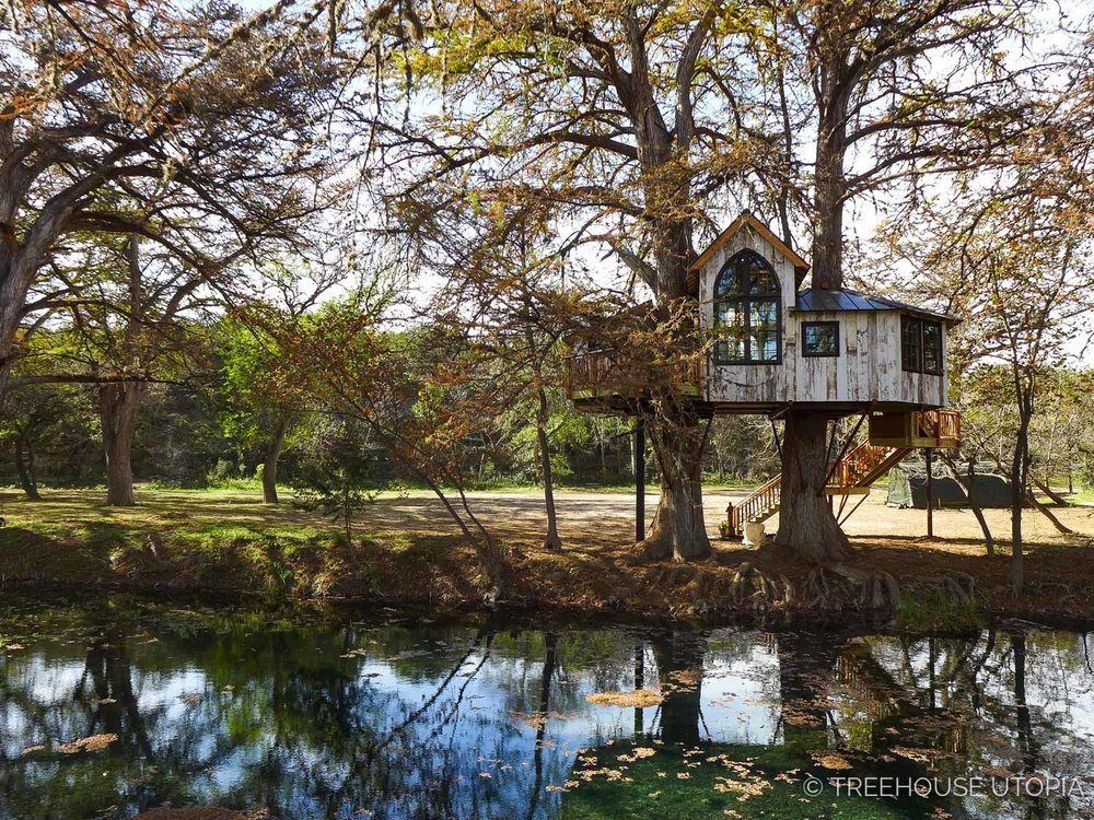 Chapelle at Treehouse Utopia in Texas Hill Country