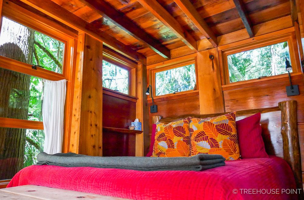 Inside the bonbibi treehouse.
