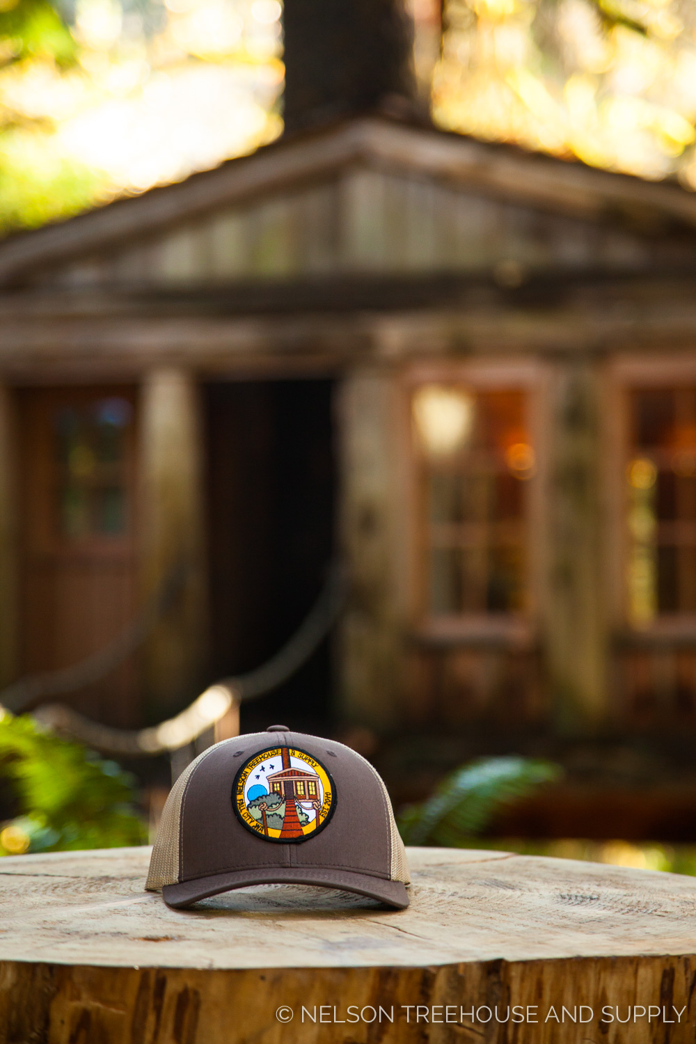 Forget to pack a hat? Don't Fret - you can purchase one of our fan-favorite snapbacks (like this one with our Temple of the Blue moon patch)inside the lodge.
