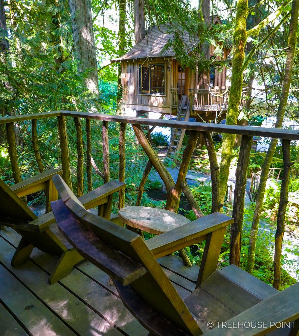 Treehouse masters treehouse point Issaquah Washington View From The Nests Deck Youtube Guide To Staying At Treehouse Point Nelson Treehouse