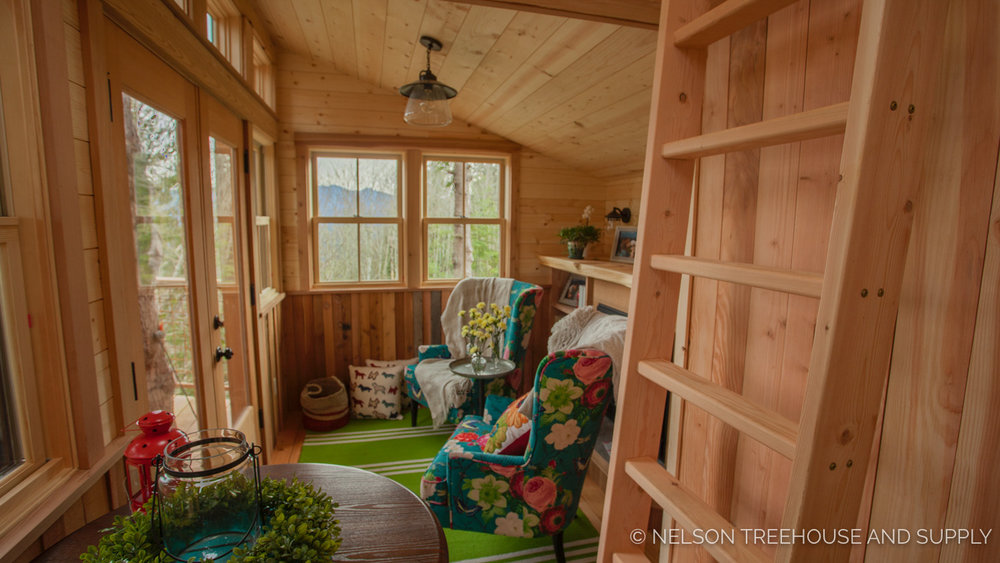 Bulldog Bungalow ships ladder - nelson Treehouse